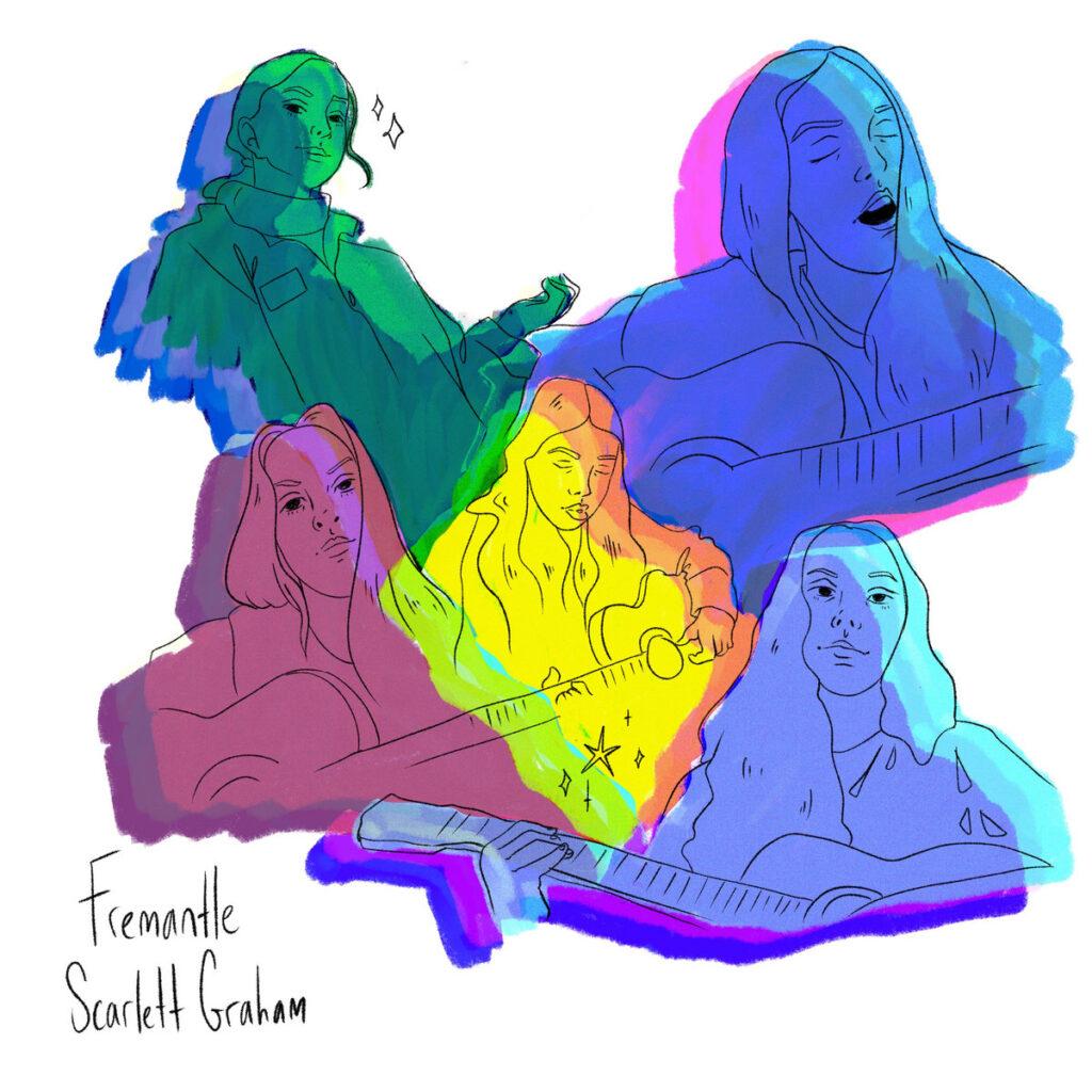 Scarlett Graham – Fremantle - Album art