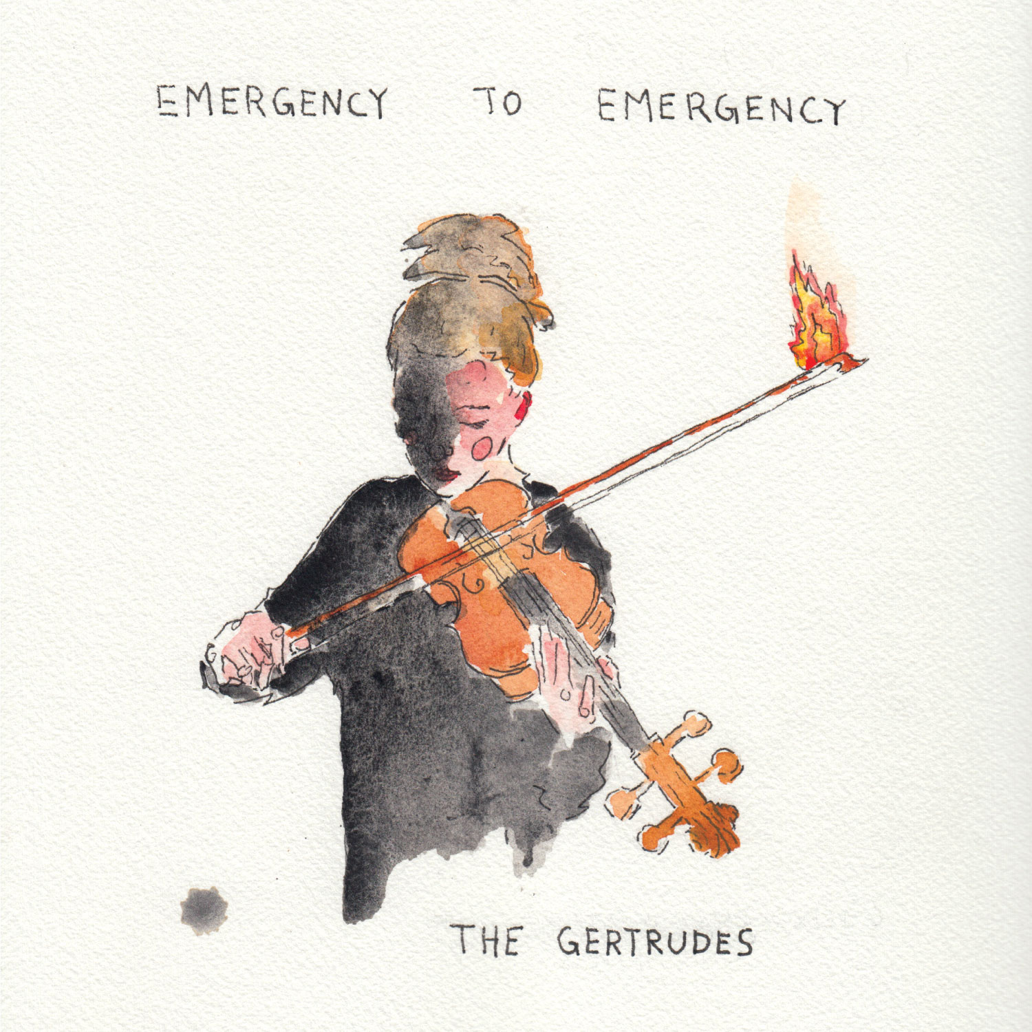 The Gertrudes - Emergency to Emergency - Album cover
